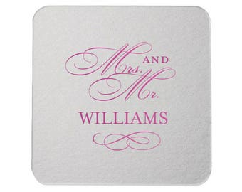Monogram Personalized Coasters, Coaster, Wedding Party Favors, Drink Coaster, Bar Personalized, Bar Coaster, Wedding Coaster Many Colors 37