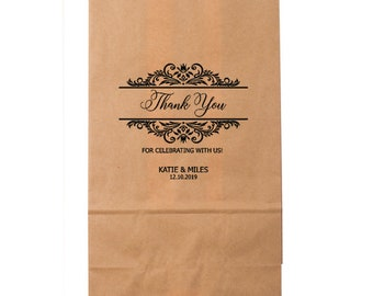 Goodie Bags - Custom Party Favors, Wedding Gift Bags, Wedding Goodie Bags, Popcorn Bag, Wedding Favor, Love is Sweet
