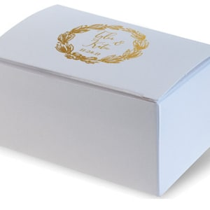 Favor Box Candy Box Personalized 282 Wedding Favor Truffle Personalized Wedding Cake Slice Boxes Custom Printed Birthday Favor