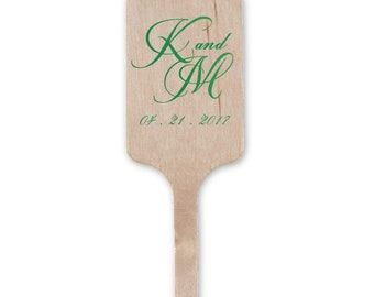 Custom Stir Sticks for Wedding Cocktails, Monogram Drink Stirrers, Wedding Swizzle Sticks, Cocktail Stirrers, Bridal Shower, Drink Stir 199