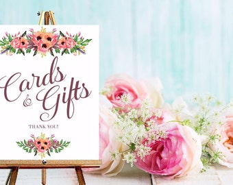 Instant Download Cards & Gift Sign/ Gift Table  / Wedding Sign / Card Sign / Instant Download / Wedding Stationery / Wedding Invitation