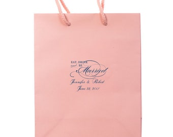 Custom Wedding Welcome Bags, Personalized Hotel Bags, Custom Out of Town Guest Bags, Favor Bags, Destination Wedding, Wedding Tote 126