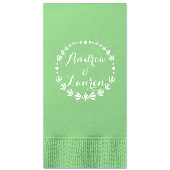 Wedding Napkin Guest Towels Anniversary Napkins Guest Towel 4.25 x 8.0\u201d Bridal Shower Napkins Love Napkin 3 Ply 1661 Party Napkins