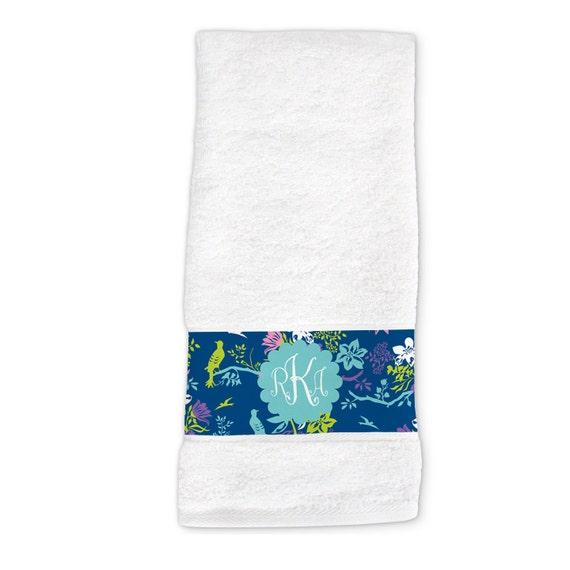 Personalized Dish Or Hand Towel Custom Monogrammed Towel