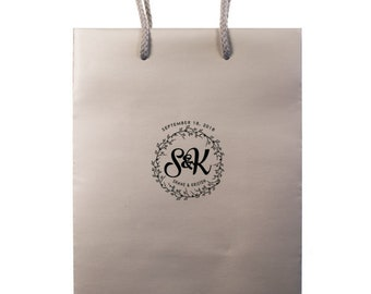 Monogrammed Hotel Bags, Personalized Gift Bags, Out of Town Guest Bags, Favor Bags, Destination Wedding, Personalized Bag, Hotel Bag 295