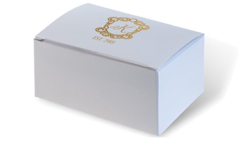 Boîtes à Gâteaux Mariage Boîtes Personnalisées Boîte De Gâteau Personnalisé Boîte De Gâteau Personnalisé Monogramme Gâteau Boîte Boîte à