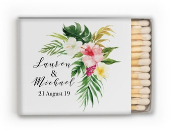 Monogrammed Wedding Matches, Personalized Wedding Matches, Custom Matchbook Wedding Monogram Favors, Custom Printed Matches, matchbook 339