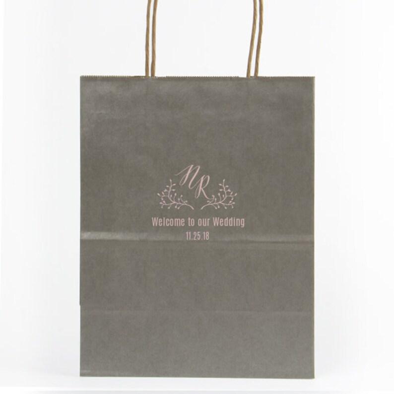 Printed Gift Bag Gift Tote Welcome Bag Welcome Bag Hotel Welcome Bag Custom Gift Bag Wedding Welcome Box Tote Bag 285 Favor Bag
