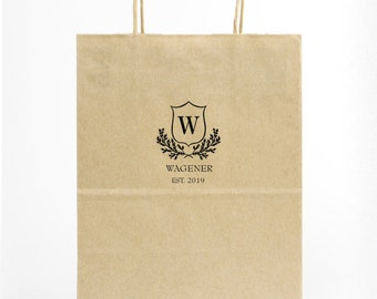 Custom Wedding Hotel Bags, Personalized Gift Bags, Out of Town Guest Bags, Favor Bags, Destination Wedding, Personalized Bag 287