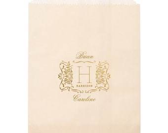 Wedding Favor Bags, Candy Buffet Bag, Coffee Favor Bag, Wedding Treat Bag, Personalized Wedding Favor, Wedding Favor Tags, Party Bags 299