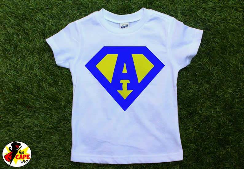 ff56d49cf Custom Superman Shirtboys superhero birthday shirt superhero | Etsy
