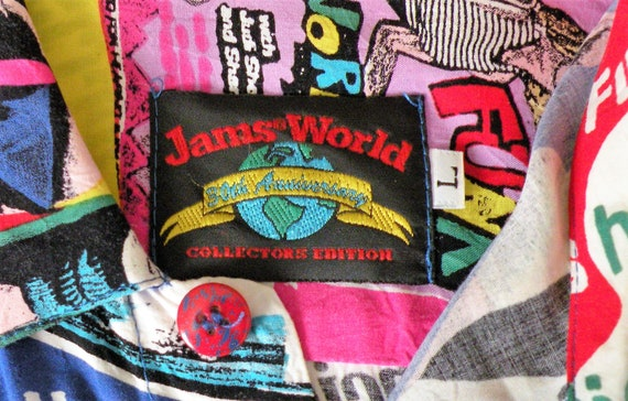 Jams World Shirt, Jazzersize Jams, Collector Editi