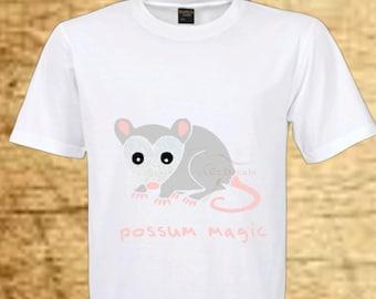 Possum T-shirt. Possum Magic. Australia. Child T-shirt. Tshirt. Birthday gift. Toddler tee.  Baby clothes. Child clothing. Baby shower gift.