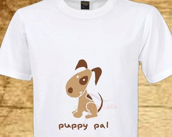 Puppy T-shirt. puppy pal. Baby clothes. Toddler tee. Toddler clothes. Baby clothes. Clothing. Baby shower gift. Child T-shirt. Tshirt