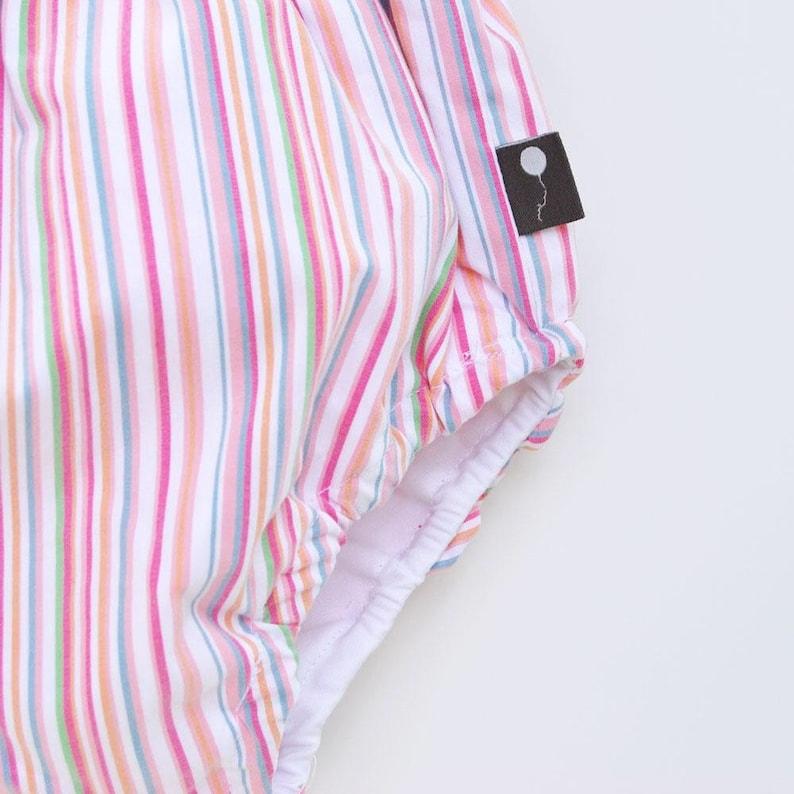 Bloomers Rainbow striped