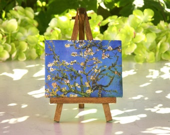 van Gogh Table Canvas on Easel