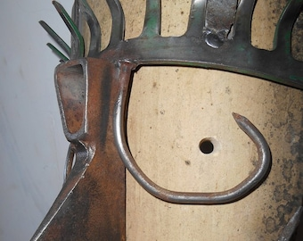 "Wall lamp ""Iron Mask"""