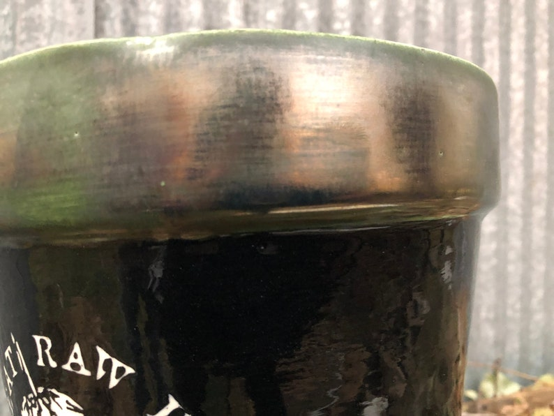 Disclose D-beat Raw Punk Ceramic Pot Metallic Lip