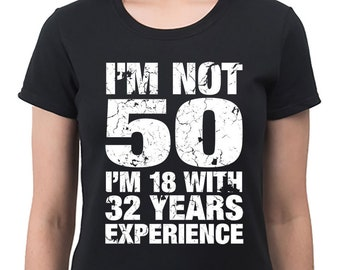 d4fa74312 50th Birthday Gifts For Her – 50th Birthday Shirt Mum Gift For Women – Gift  Ideas 50th Present – Mothers Day Gift – Im Not 50 1969