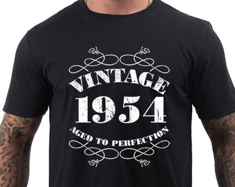 65th Birthday Gifts For Men Shirt Dad Gift Him Ideas Present Fathers Day Vintage 1954