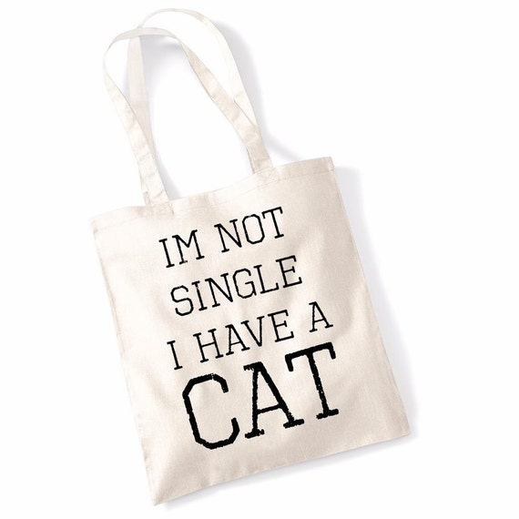 """Printed Tote Bag Funny Slogan Shoulder Bags Shopping /""""I Bloody Love Books/"""""""