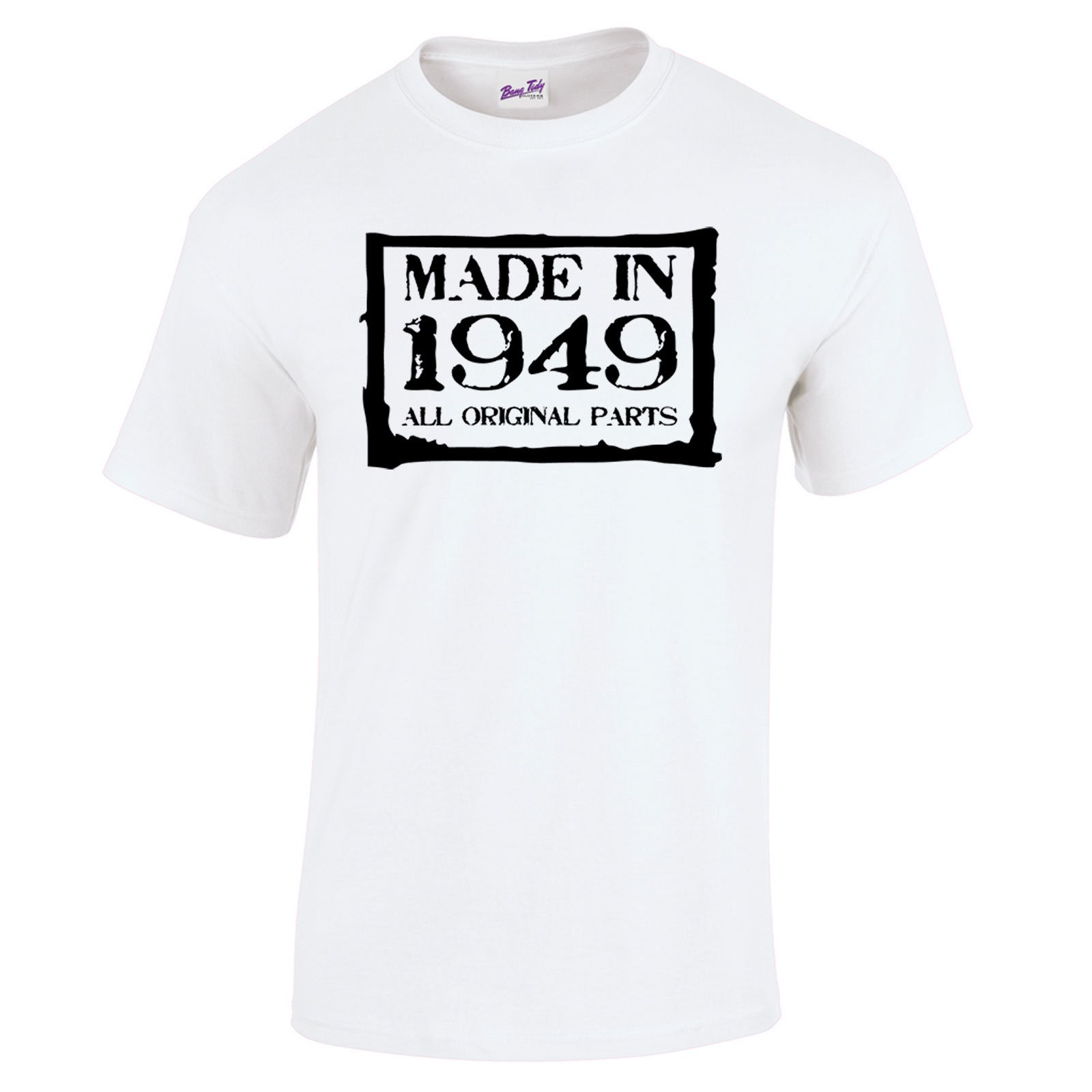 70th Birthday Gifts Presents Year 1948 Unisex Ringer Vintage T Shirt Aged To Old Shirts