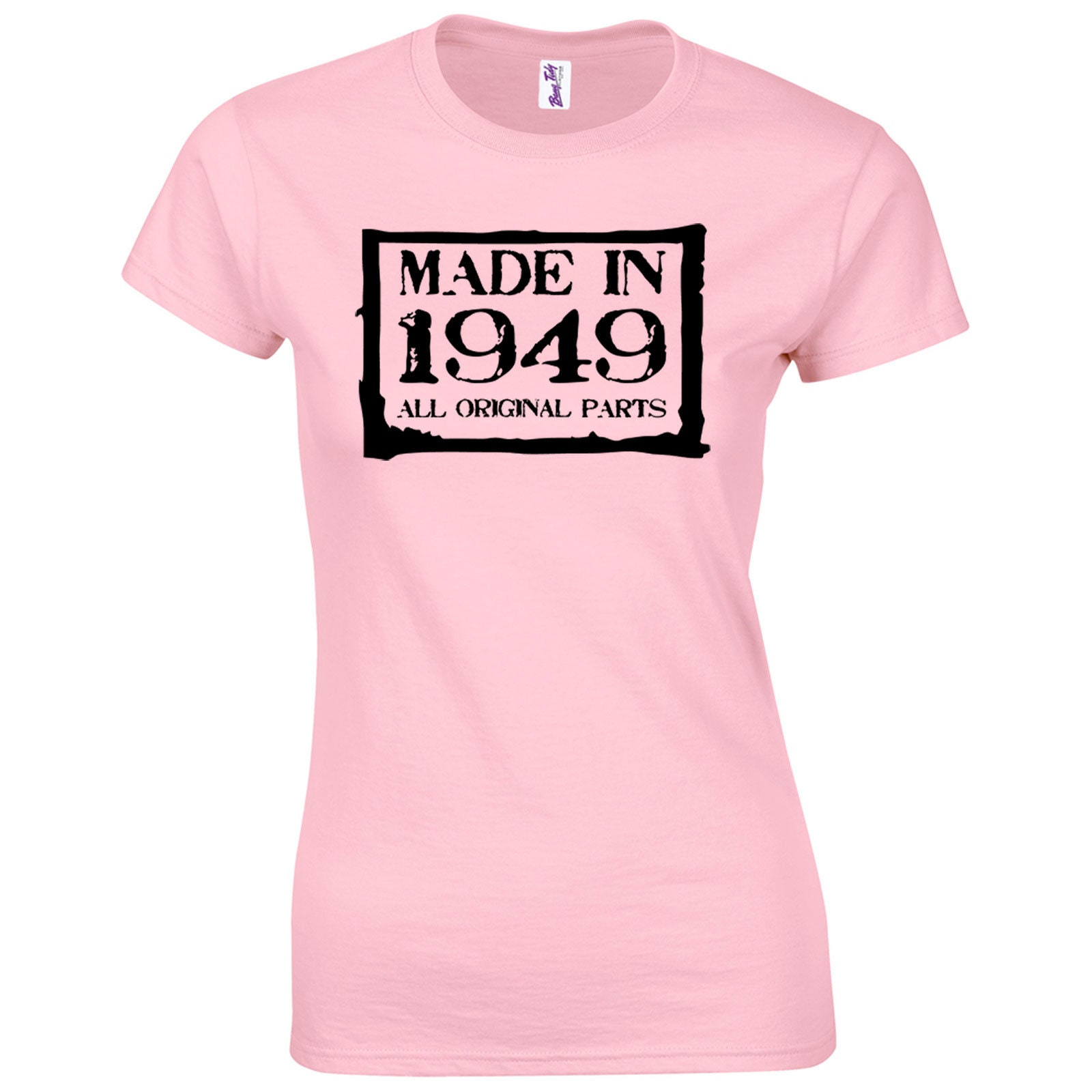 70th Birthday Womens T Shirt Made In 1949 Gifts
