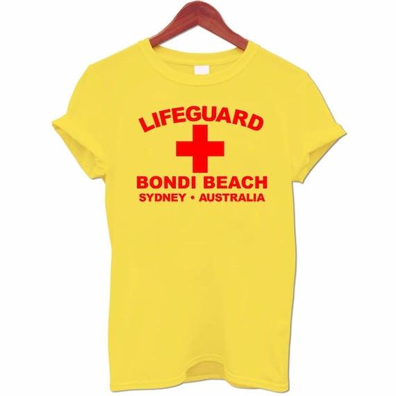 Men S Lifeguard Bondi Beach Sydney Australia Surfer Beach Etsy