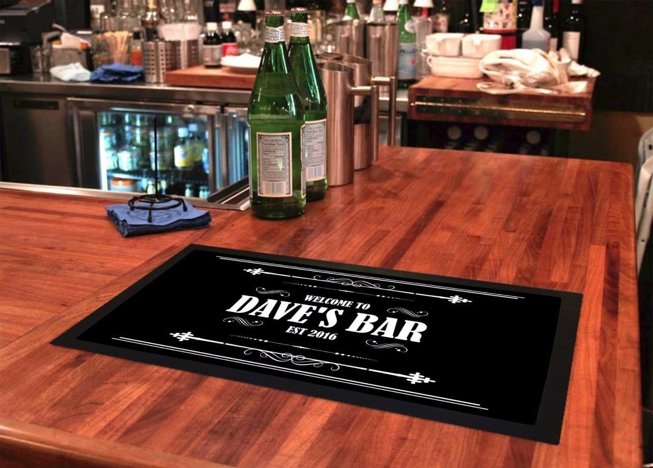 Personalisierte Bar Läufer personalisierte bar Matte bar