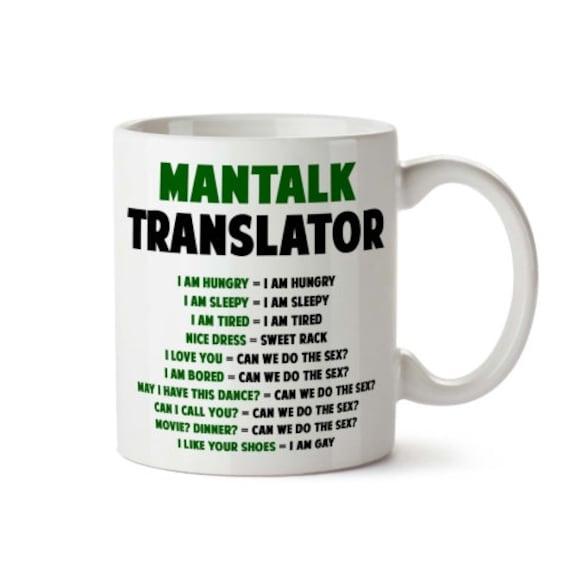 Funny Coffee Mug Tea Cup Gifts for Men & Women Printed ...