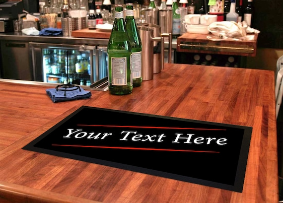 Fathers Day Bar runner home bars /& pubs Dad/'s Man cave