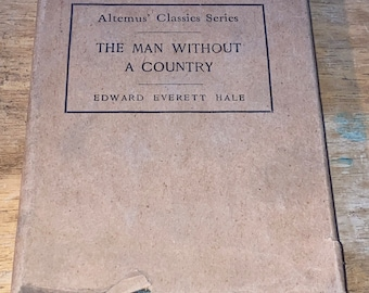Antique Book-The Man Without A Country