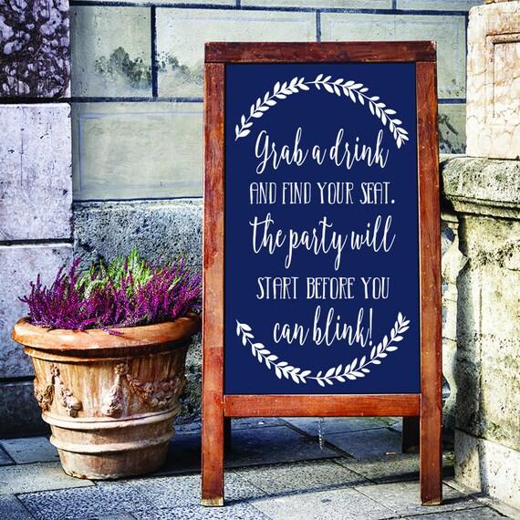 Wedding Signs Decal Wedding Wedding Decor Rustic Wedding Decor Rustic Wedding Wedding Sign Wedding Signage Diy Wedding