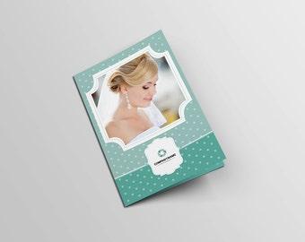 designer portfolio template indesign portfolio brochure etsy