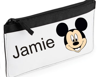 4437f07046e Personalised Mickey Mouse Pencil Case