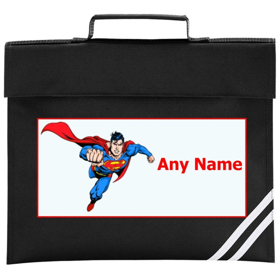 Personalised SUPERMAN Wallet Choice of colours