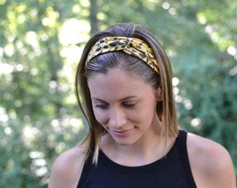 Adult Turban Headband in 38 Color Options