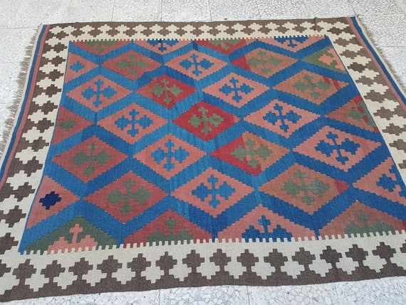 Sale Kilim Rugs For Sale Arts And Crafts Rug Livingroom Etsy