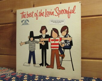 The Lovin' Spoonful - The Best Of The Lovin' Spoonful - 33 1/3 Vinyl Record