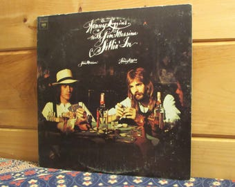 Kenny Loggins With Jim Messina Sittin' In - 33 1/3 Vinyl Record