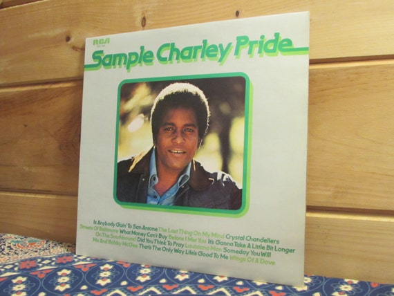 Uk pressing charley pride sample charlie pride 33 13 aloadofball Image collections