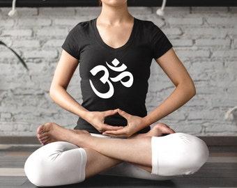 0401a68aef26d Om Tshirt, Om T Shirt, Aum Sacred Mantra T-shirt, Ohm Tee for Meditation ( women, men) with Brahma Symbol (Onkara, Omkara, Aksara, Pranava)