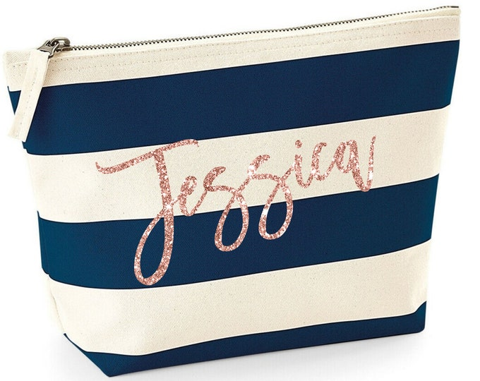 Featured listing image: Personalized Makeup Bag, Personalized Gift, Custom Birthday Gift, Personalized Gift for Mom from Daughter, Personalized Gift for Women