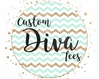 Custom Diva Tees
