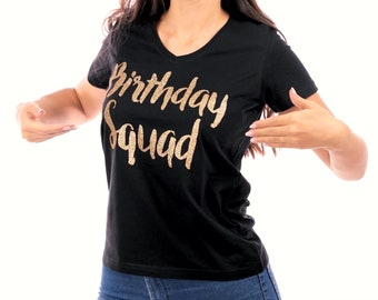 Birthday Squad, Birthday SQUAD Shirts, Birthday Entourage Shirts, Birthday Party Shirts, Birthday Shirts, Birthday Tshirts, Birthday QUEEN