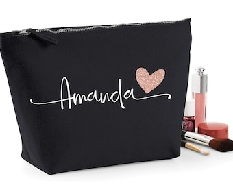 Dance Team Gift, Dance Competition Gift, Cheer Gifts, Cheerleading Gifts, Cheerleader Gifts, Personalized Makeup Bag with your name/team