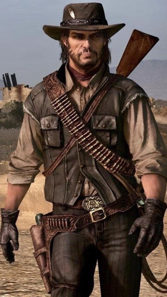 John Marston Inspired Red Dead Redemption Gun Belt