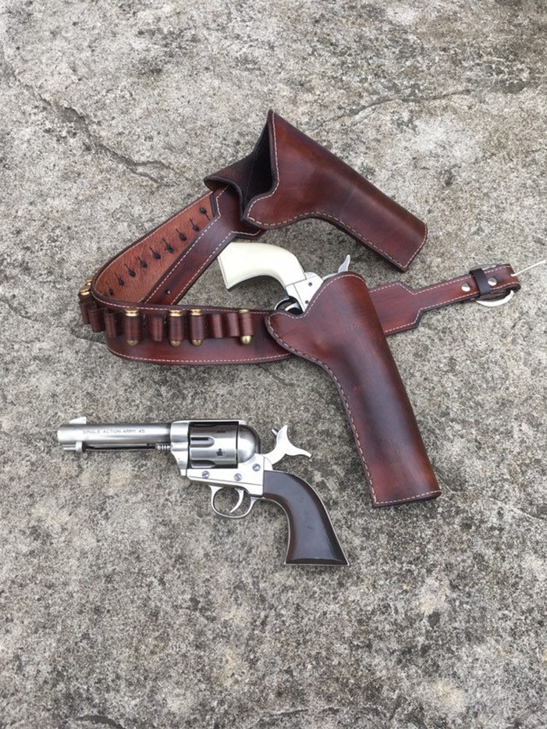 932746ed Magnificent Seven Faraday Inspired Gun Belt With Replica image 0 ...