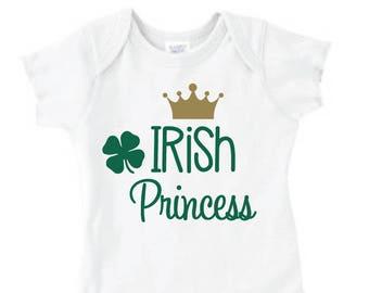 St. Patrick's Day Irish Princess - Shirt/Onesie