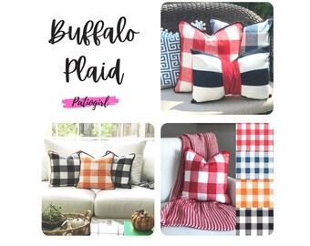 Buffalo Plaid - multiple color options